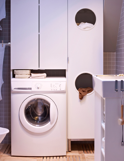 Laundry Room Furniture Laundry Room Storage Clothes