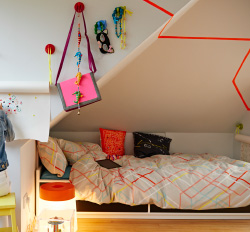 Kids' colorful bedroom