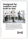 Cover of the brochure for office ergonomics