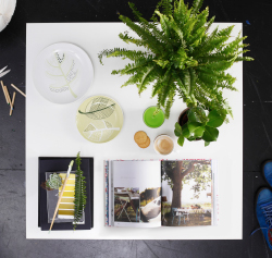 Steal the style: green your coffee table