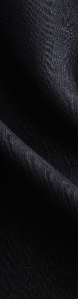 Close up of a black cloth.