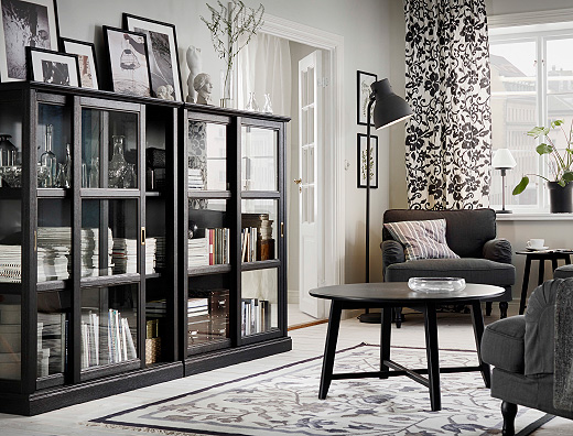wohnzimmerschr nke wohnregale online kaufen ikea. Black Bedroom Furniture Sets. Home Design Ideas