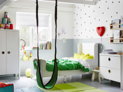kinderzimmer babyzimmer g nstig online kaufen ikea. Black Bedroom Furniture Sets. Home Design Ideas