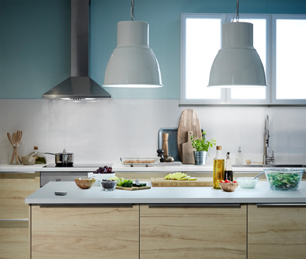 Smart LED bulbs are great for brightening up a kitchen