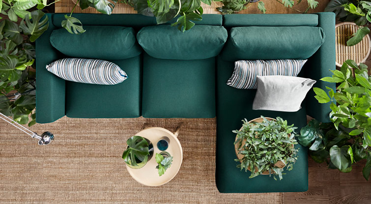 IKEA VIMLE sofa is designed to be designed by you – just change, replace or add sections to create the sofa you want.