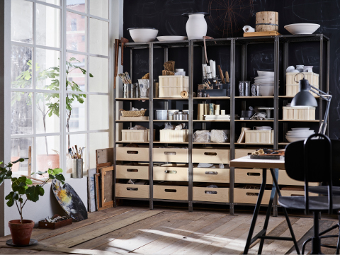 regalsysteme b cherregale f rs wohnzimmer ikea. Black Bedroom Furniture Sets. Home Design Ideas