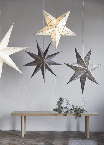 outdoor star pendant light