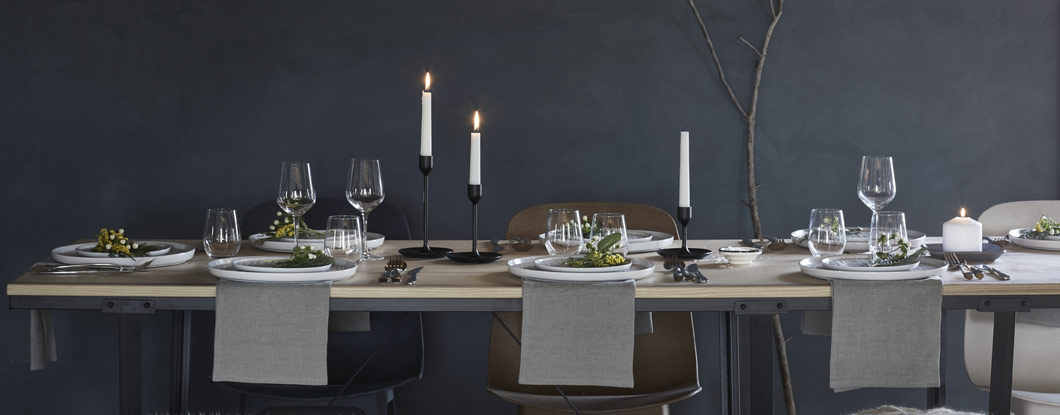 Make this season special with the new IKEA Winter collection, including tables, glasses, tableware, textiles, sweet treats and more.