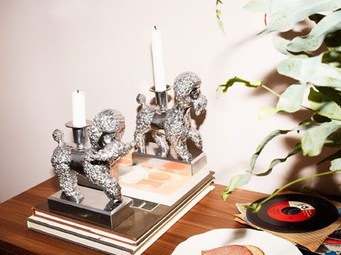 These new FÖREMÅL aluminum dog candlestick holders make an artistic and decorative and addition to your home.