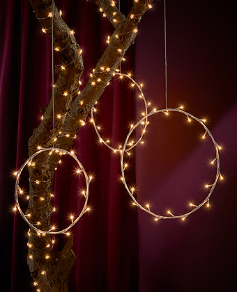 IKEA STRÅLA lighting chains and circles (and many other shapes) from the IKEA Winter collection is like a Christmas fairytale brought to life in your home.