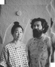 Adam Frezza and Terri Chiao, the American artist duo CHIAOZZA.
