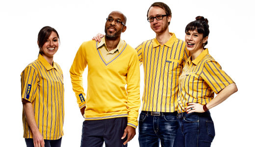IKEA customer service co-workers