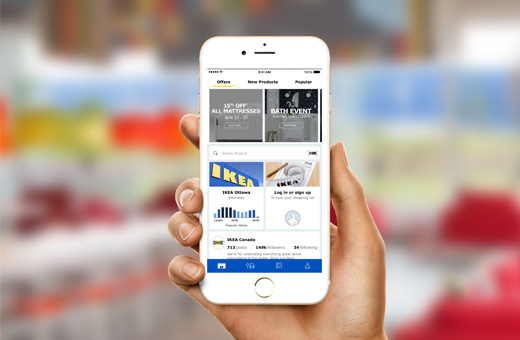 Free IKEA apps for your smart phone or tablet