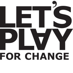 Let's play for change logotype
