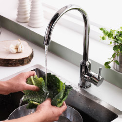 IKEA water saving taps reduce water usage by up to 50%