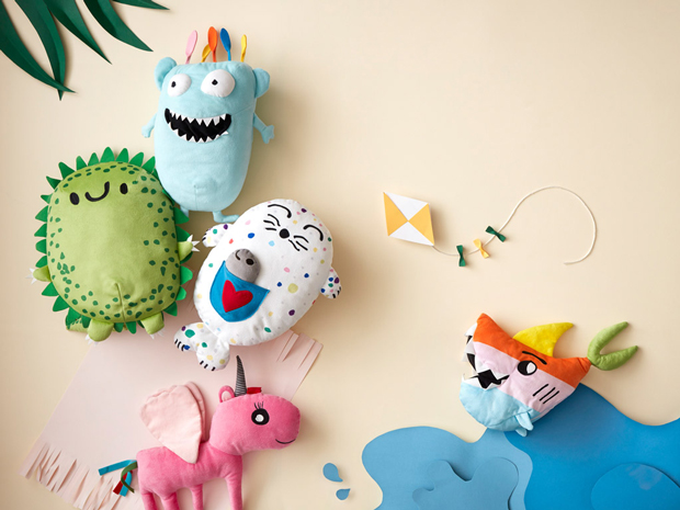 Your kid's drawing can turn into a soft toy to be sold in every IKEA store!