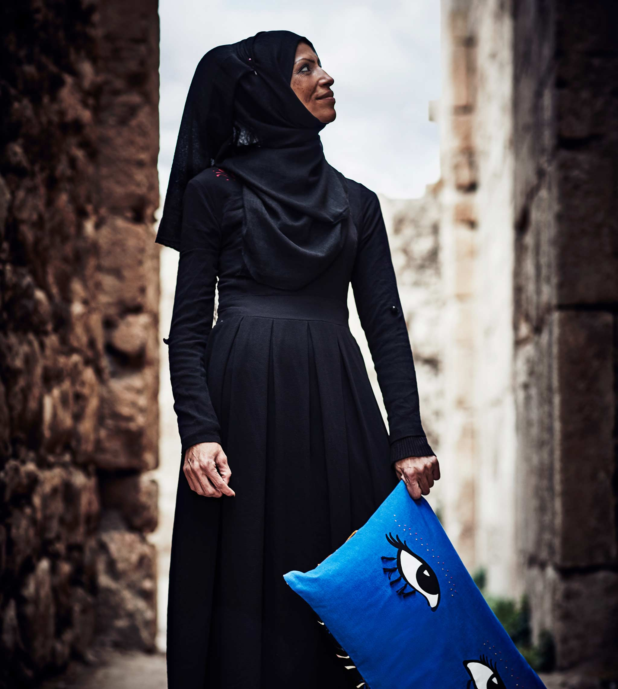Tahani Al Khatib, artisan from Palestine collaborated with IKEA and Jordan River Foundation in creating the collection TILLTALANDE.