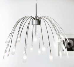 HÄGGÅS LED pendant lamp consumes up to 85% less energy and last 20 times longer than incandescent bulbs.