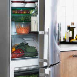Upgrading your refrigerator or freezer to a newer model can save energy