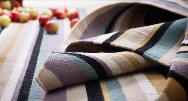 Using textiles is an easy way to save keep your house cool in the summer; warm in the winter