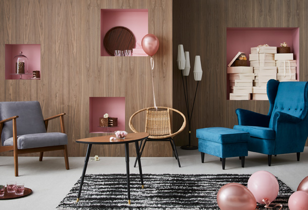 Add a touch of retro to your home with GRATULERA, the vintage collection celebrating seventy-five years of IKEA design.