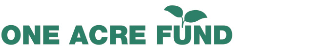 A green One Acre Fund logo