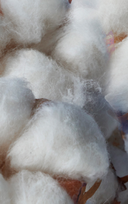 Since 2015, all cotton in our products comes from more sustainable sources, which means improved production for people and the environment by minimizing the use of pesticides and fertilizers.