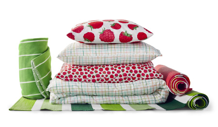 IKEA decided to get rid of the whole group of perflourinated chemicals in textiles.