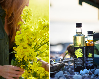 A new series of 100% organic rapeseed oils will be launched in February 2018, IKEA SMAKRIK.