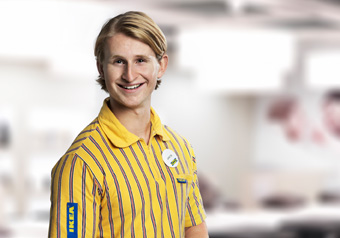Image of IKEA co-worker Jakob Dackander