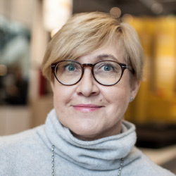a photo portrait of IKEA Store Manager, Urszula Wilczak