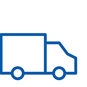 Pictogram of a truck.