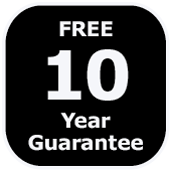 10 year guarantee bathroom