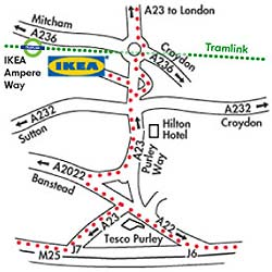 Store info ikea for Ikea driving directions