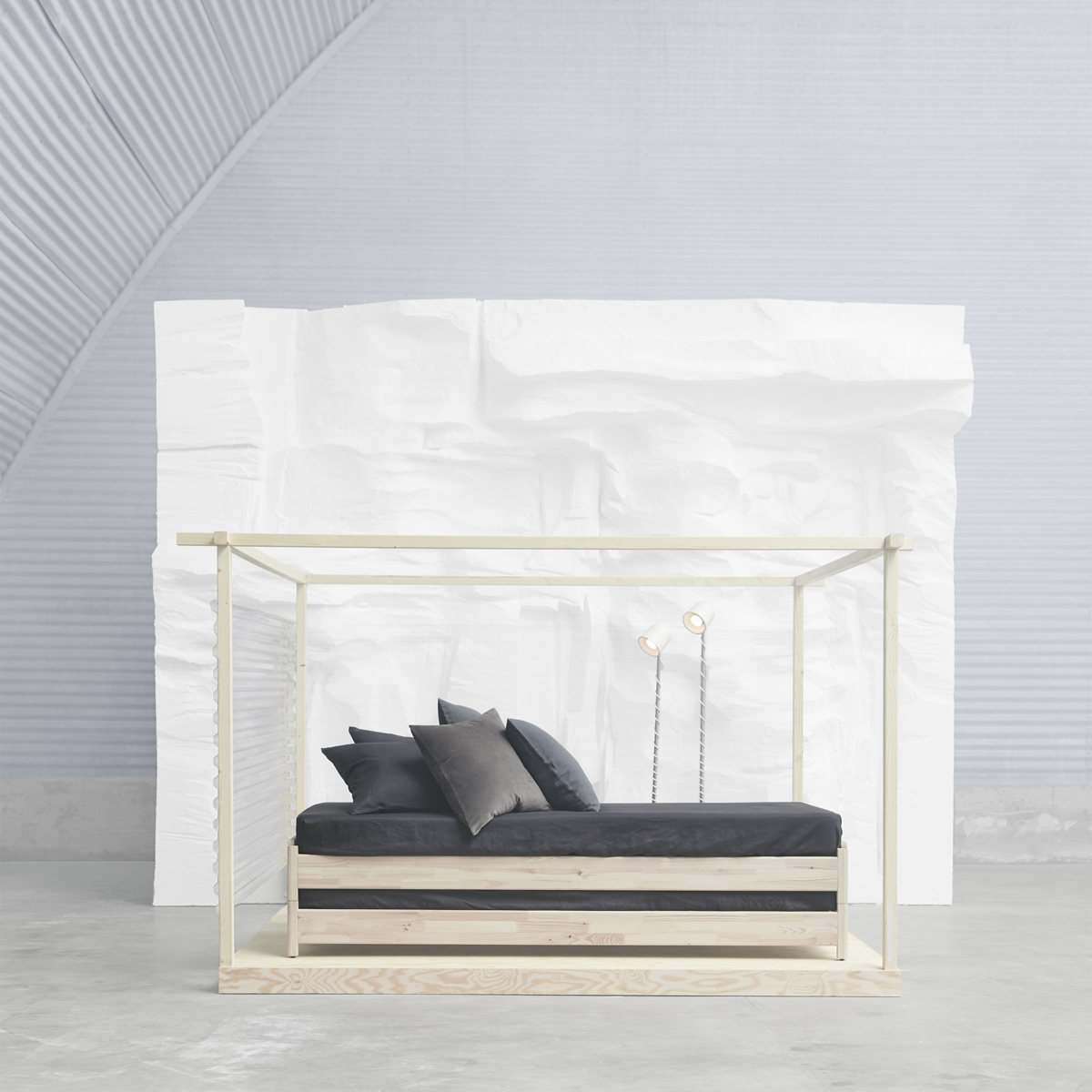 affordable meet the versatile ikea utker stackable bed made of untreated solid pine that. Black Bedroom Furniture Sets. Home Design Ideas