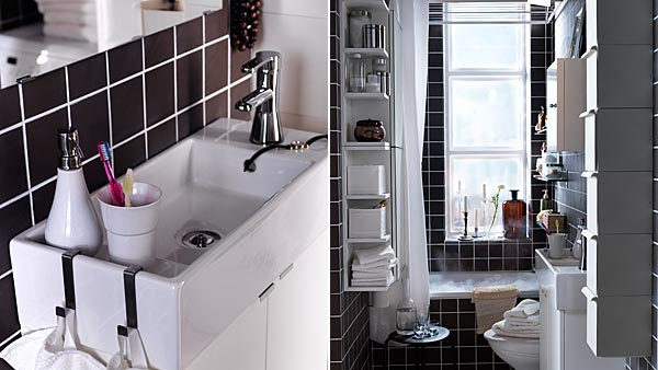 Small space | Small laundry and bath - IKEA