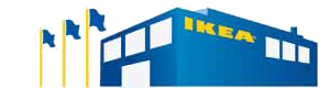 Illustration of an IKEA store