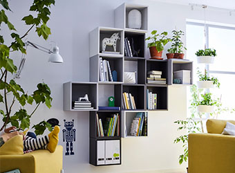 EKET Bookcases/ wallunits