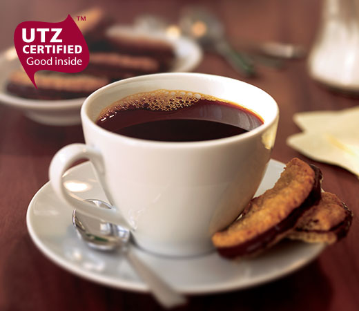 Coffee with UTZ certified