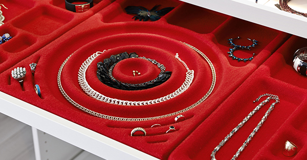 KOMPLEMENT jewellery tray