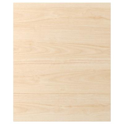 ASKERSUND Cover panel, light ash effect, 63x76 cm