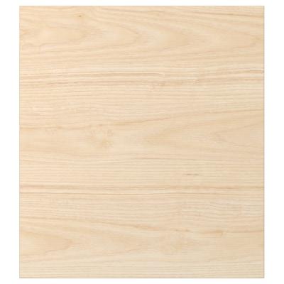 ASKERSUND Door, light ash effect, 46x51 cm