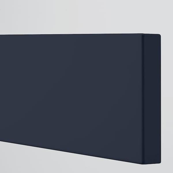 AXSTAD Drawer front, matt blue, 76x13 cm