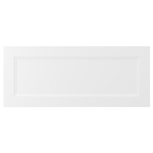 AXSTAD Drawer front, matt white, 91x38 cm