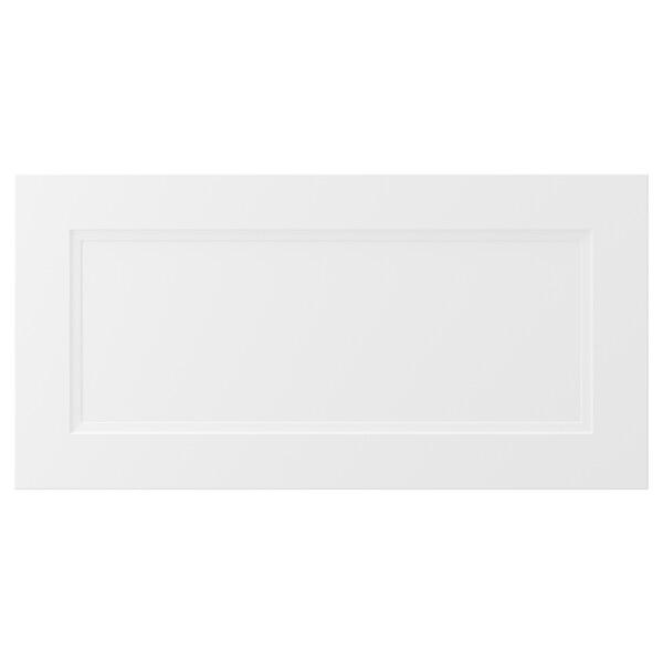 AXSTAD Drawer front, matt white, 76x38 cm
