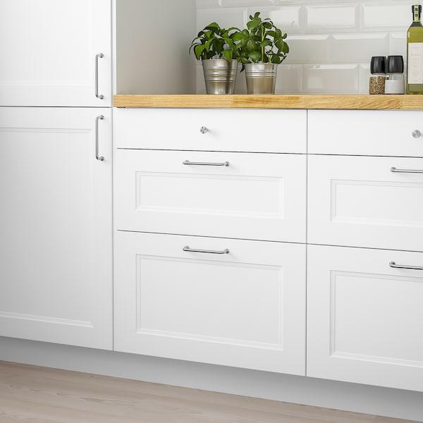 AXSTAD Drawer front, matt white, 76x13 cm
