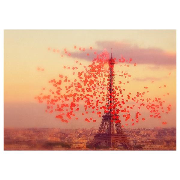 BJÖRKSTA Picture, Eiffel tower, 140x100 cm
