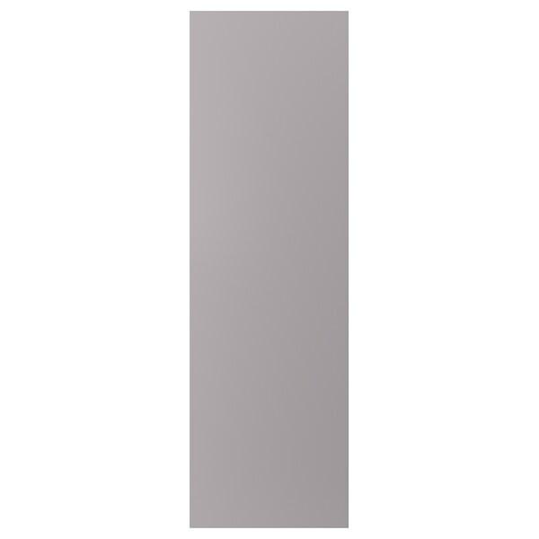 BODBYN Cover panel, grey, 63x203 cm