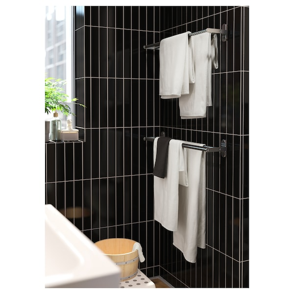 BROGRUND Towel rail, stainless steel, 67 cm