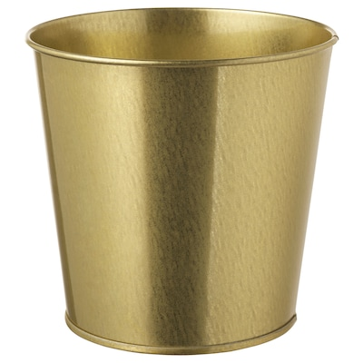 DAIDAI Plant pot, brass-colour, 12 cm